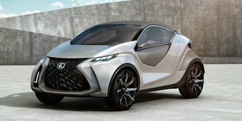 Lexus LF-SA concept leaks online