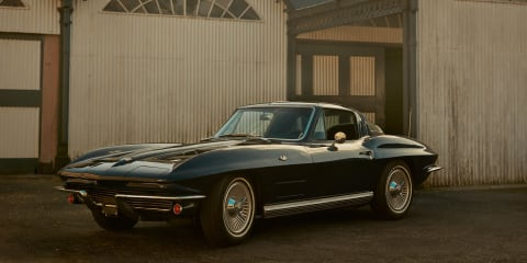 Electric Chevrolet C2 Corvette: 1500kW 'hyperclassic'