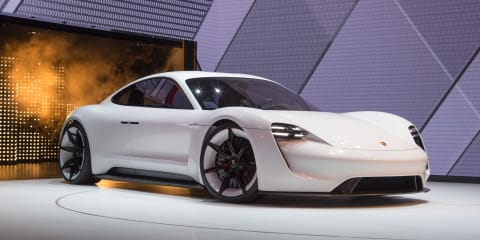 Porsche Taycan electric sedan sold out for the first year