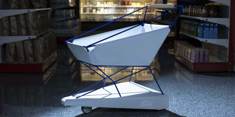 Ford gives shopping trolleys AEB