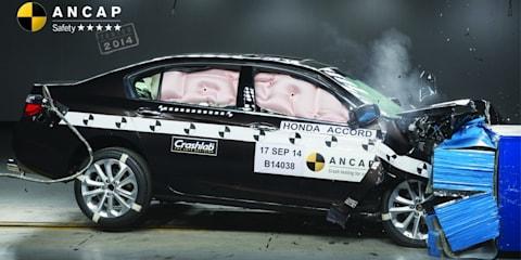 ANCAP praises improved Honda Accord, criticises five-star Nissan X-Trail