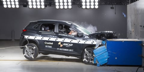 ANCAP: Hyundai Kona Electric maintains 5-star rating in audit tests