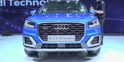 2017 Audi Q2 Design Interview  : 2016 Geneva Motor Show