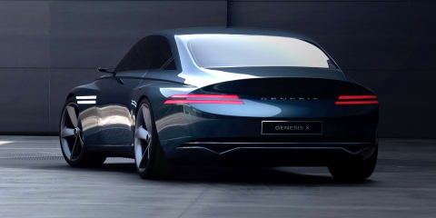 Genesis X Concept unveiled, previews luxury brand's future