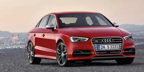 Audi S3 sedan: new body shape flagship revealed