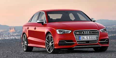 Audi S3 sedan: new body shape flagship revealed