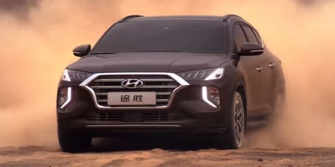 2020 Hyundai Tucson facelift revealed for China