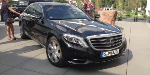 Mercedes-Benz S600 Guard Review : Driving the armoured G-20 cars