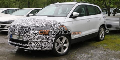 2021 Skoda Karoq spy photos