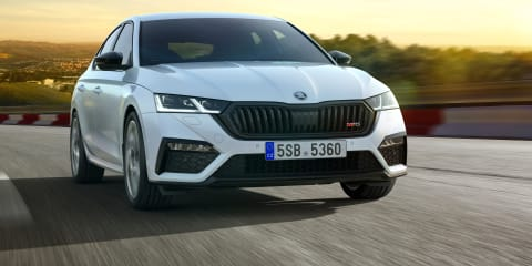 2020 Skoda Octavia RS iV: Plug-in hybrid performer revealed