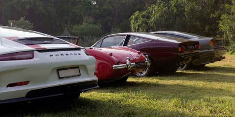 Go supercar hunting at the Vaucluse Car Club Autumn Gathering in Sydney