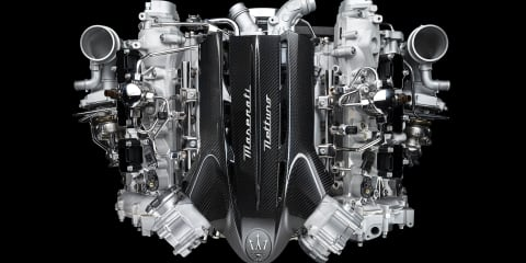 Maserati Nettuno: MC20's 463kW in-house twin-turbo V6 detailed
