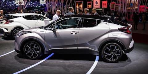 2017 Toyota C-HR Compact SUV - 2016 Paris Motor Show