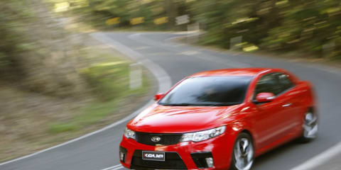 Kia Cerato Koup First Steer