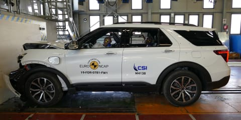 Euro NCAP: CX-30, Explorer, GLB get five-star ratings