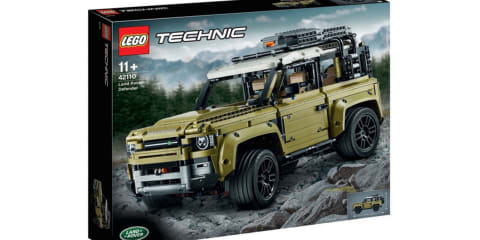 2020 Land Rover Defender Lego model leaked