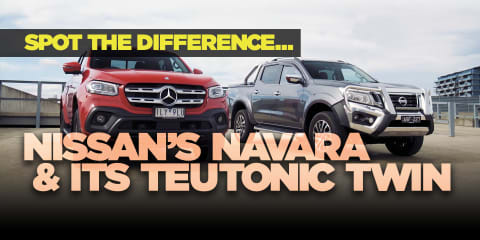 Mercedes-Benz X-Class and the Navara: 5 differences