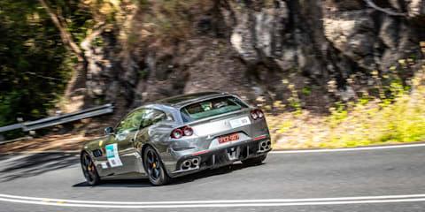 Driving a Ferrari at Targa Great Barrier Reef