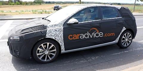 2020 Hyundai i30 plug-in spied