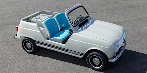 Renault 4 e-Plein Air: Retro-electro concept revealed