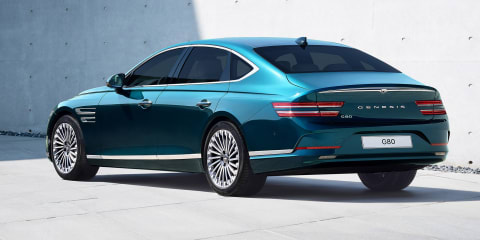 2022 Genesis Electrified G80 revealed: Electric sedan due in Australia early 2022
