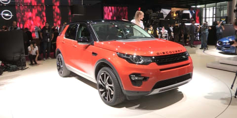 2015 Land Rover Discovery Sport - first look