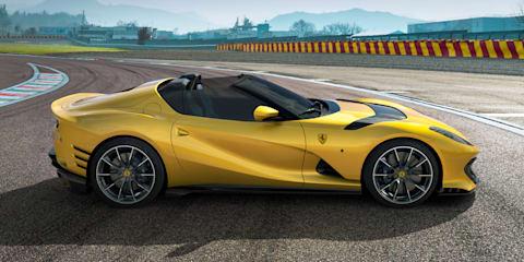 2021 Ferrari 812 Competizione and Competizione A revealed with 9500rpm redline