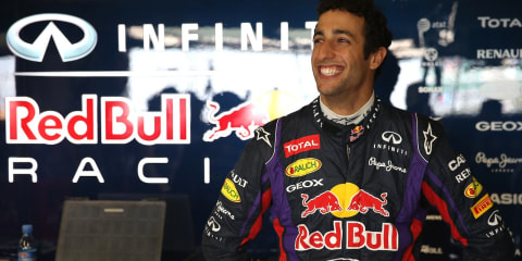Ricciardo announced as Infiniti Red Bull Racing driver for 2014