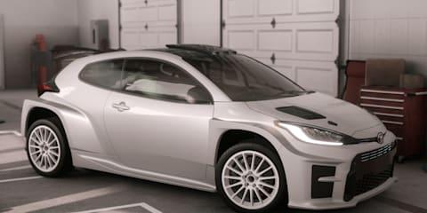 Toyota reveals Aussie-designed GR Yaris AP4 rally car