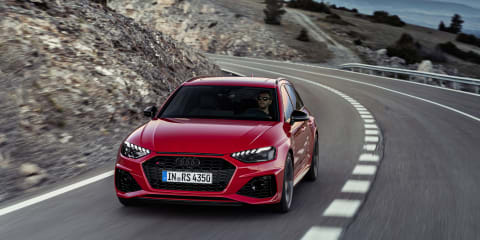 2020 Audi RS4 revealed, here mid-2020