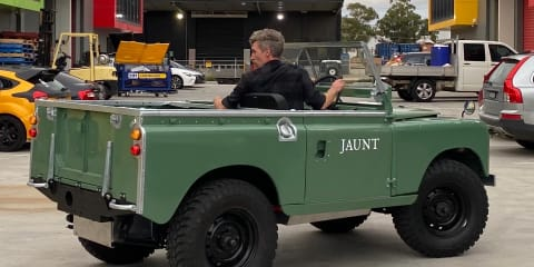 The Australian startup turning old Land Rovers into EVs