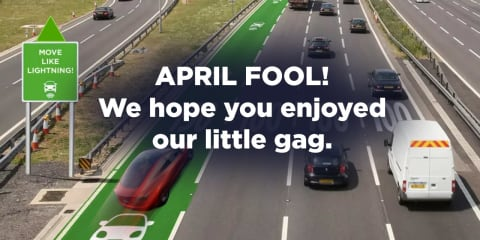 Greens promise higher speed limits for EV drivers (April Fool!)