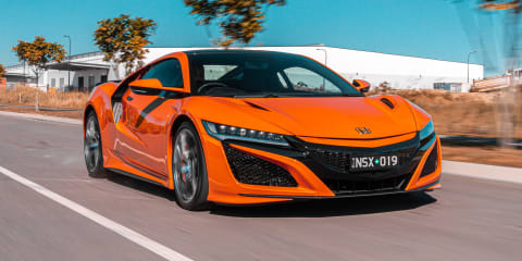 Honda NSX departs Australia, but an NSX-based SUV could be coming
