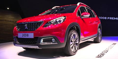 2017 Peugeot 2008 Facelift : 2016 Geneva Motor Show