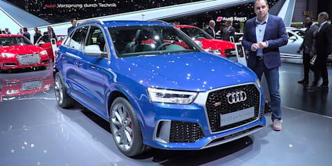 2017 Audi RS Q3 Performance : 2016 Geneva Motor Show