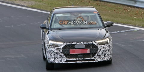 2019 Audi A1 Allroad spied