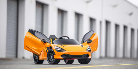 McLaren 720S: EV model revealed... for kids