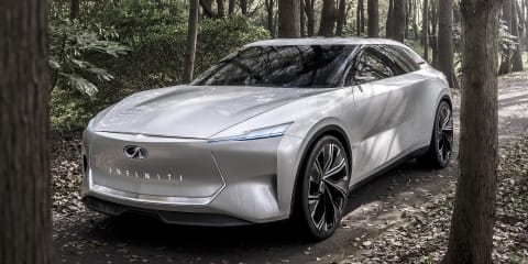 Infiniti Qs Inspiration concept goes official