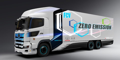 Toyota partners with Hino to develop hydrogen-powered truck