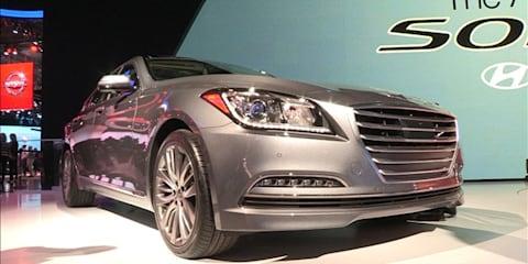 Hyundai Genesis at NYIAS 2014