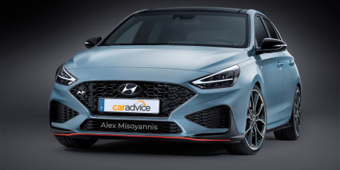 2021 Hyundai i30N due early next year: more power, sharper look