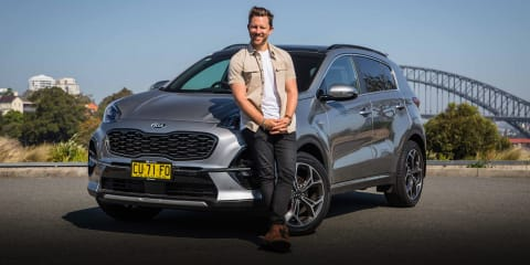 Kia's SUV range - Choose your ride: Sportage