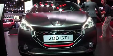 2014 Peugeot 208 GTi 30th - first look