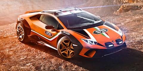 Lamborghini Huracan Sterrato concept unveiled