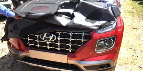 2020 Hyundai Venue leaked