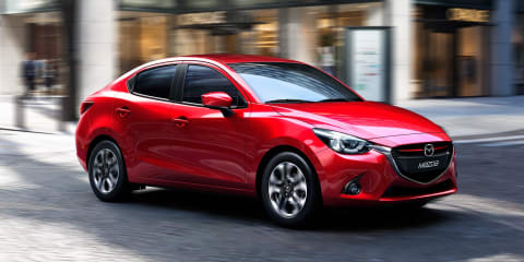 Mazda 2 sedan confirmed for Australia in Q3