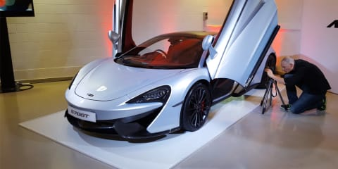 2016 McLaren 570GT Walk Around — Start Up and Exhaust Sound