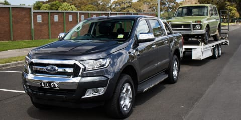 Tow ball mass explained with the Ford Ranger XLT