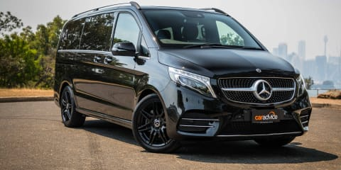 2019 Mercedes-Benz V250d Avantgarde review