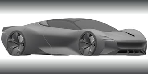 Jaguar files patent for mysterious hypercar design